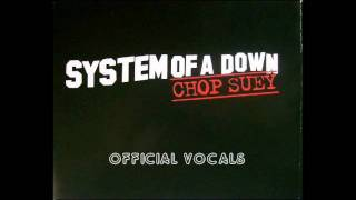 System of a Down - Chop Suey studio vocal track + piano