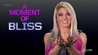 Alexa Bliss vs Trish Stratus Moment of Bliss - WWE Raw 1 October 2018 Highlights HD