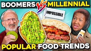 Boomers Try Millennial Food Trends
