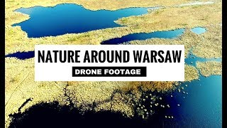 Nature Around Warsaw Drone Video | Poland | Warszawa Dron | by The Alternative Travel Guide