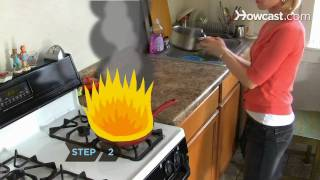 How to Put Out a Grease Fire