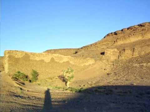 GsTrail: Orientación en el Sahara. Entrada ciudad perdida.