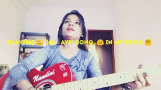 Hawaye..song | in my style 😝|