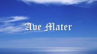 Cantos gregorianos -  Ave Mater