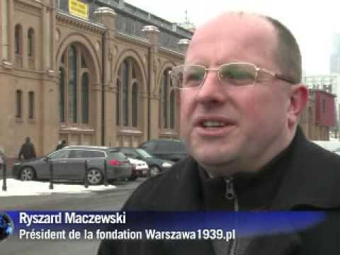 Un film en 3D reconstitue la Varsovie d'avant-guerre