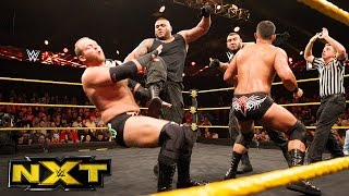 The Authors of Pain make their NXT debut: WWE NXT, June 15, 2016
