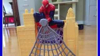 Hot Wheels Spider-Man Web Swing Track Set