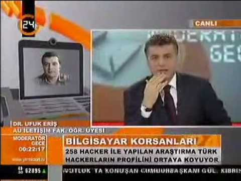 Türk Hacker profili, eskişehir anadolu üniversitesi, ufuk eriş, doktora tezi üzerine