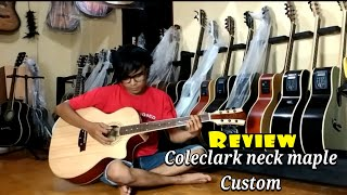 Coleclark custom neck maple [REVIEW]