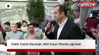 Fatih Camii Derneği, 850 kişiyi ağırladı