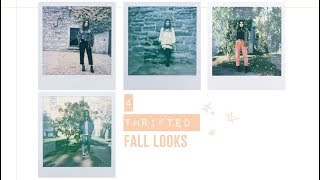 Thrifted Fall Lookbook  2017 | Mademoiselle Trudel