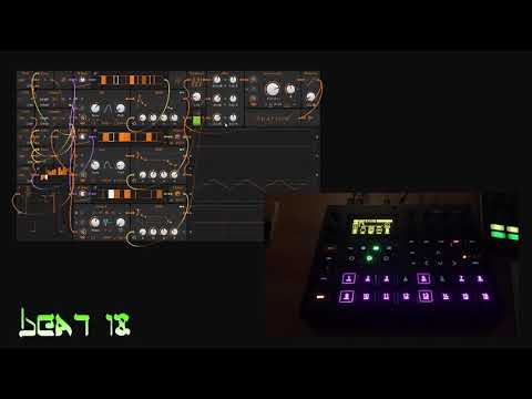 Beat 18 (Digitakt + Bitwig 3 Poly Grid)