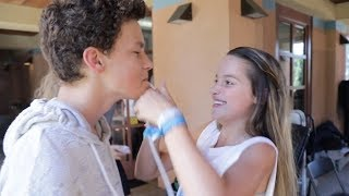 Hayden Summerall TEASING Annie LeBlanc After Filming Kissing Scene