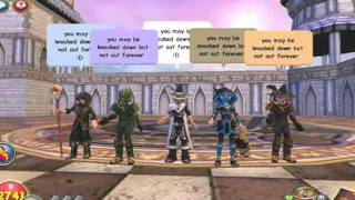 Wizard101 music video get back up again