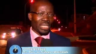 Ponte da Vila do Gamek encerrada devido a fissuras | TV Zimbo |