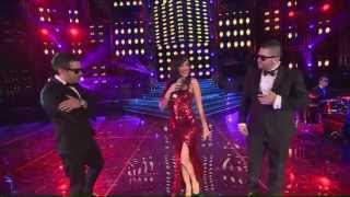 STINE FT GB MC & RUDI CAT - TI JE ENGJELL ( Kenga Magjike 2012 - Nata e pare Gjysem Finale )