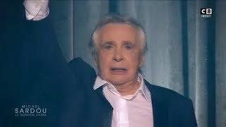 En larmes, Michel Sardou fait ses adieux définitifs à la scène !