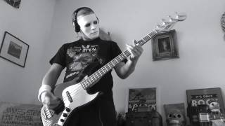 Misfits-Dig Up Her Bones Bass Cover