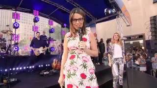 Celine Dion Because You Loved Me Live Today Show 2016