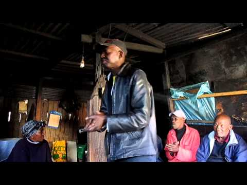 Locals of Langa Township