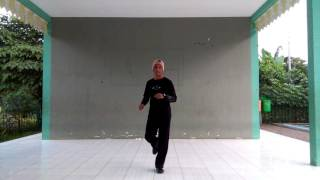 DUELE BACHATA - Line Dance (TUTORIAL) Song DUELE By Dama