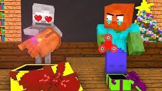 Monster School: Christmas Presents - Minecraft Animation