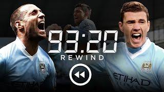 MAN CITY 3-2 QPR   HD Extended Highlights   93:20 Rewind