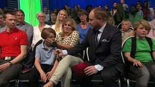 Pernilla Wahlgren hejdar sonens dansplaner - Let's Dance junior (TV4)