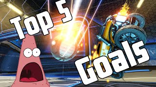 Top 5 Insane Goals - Rocket League #2