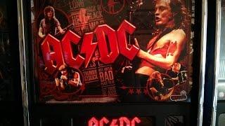 AC/DC Pinball machine - Thunderstruck & Hells Bells