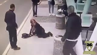 Bully Picks on Elderly Woman | Active Self Protection