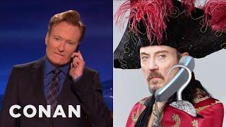 """Christopher Walken Wants A Role In """"The Wiz""""  - CONAN on TBS"""