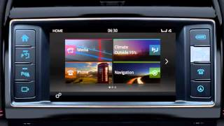 Jaguar F-PACE 2017 | InControl Touch Digital Audio Broadcasting (DAB) Radio