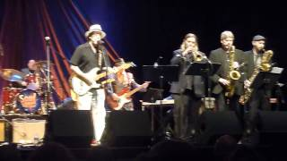 Crosscut Saw by Tom Principato with the King Soul Band