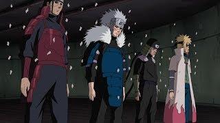 L'incontro tra Sasuke e i 4 Hokage - FANDUB ITALIANO
