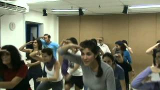 CIA DE ENCENAÇÕES MUSICAIS -- OFICINA DE DANÇAS POPULARES -- EQUIPE DA ESCOLA SÁ PEREIRA RJ