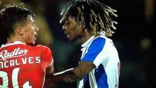Confusão e agressões FC Porto B vs Benfica B 2ª Liga 16/17