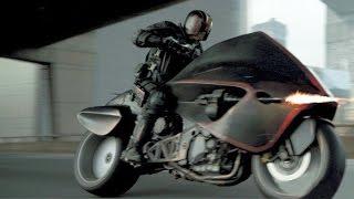 DREDD / MEDICINE    Dredd motorbike chase with alternative soundtrack by Andy Sonar