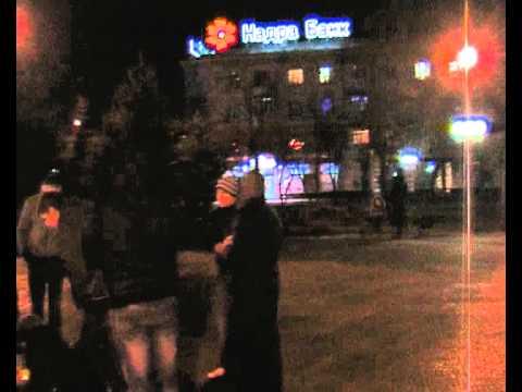 Час Земли 2012 в Луганске (Earth Hour)