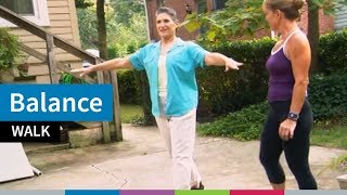 Go4Life Exercise--Balance Walk
