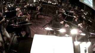 Laurent Couson conducts his new soundtrack (First Person View)