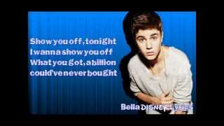 """Beauty And A Beat"" - Justin Bieber ft. Nicki Minaj (Lyrics Video) HQ"