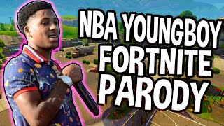 NBA YoungBoy - No Smoke (Fortnite Battle Royale Parody)