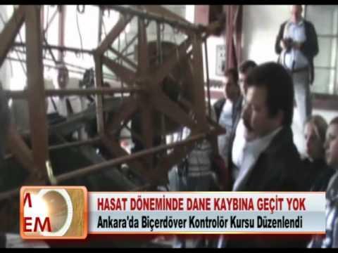 Ankara'da Biçerdöver Kontrolör Kursu Düzenlendi 17.05.2012