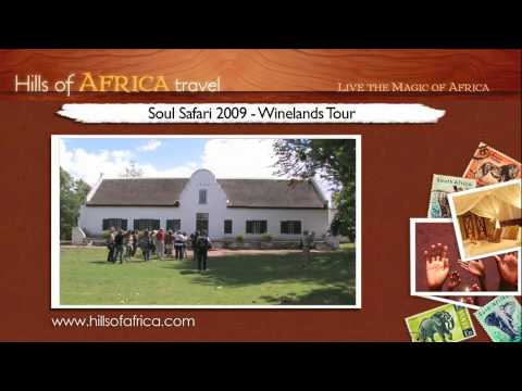 Soul Safari 2009 with Ainslie MacLeod – Winelands Tour
