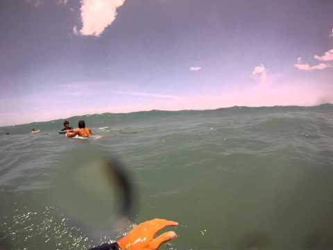 Bodyboarding at La Concha 4/6/2012