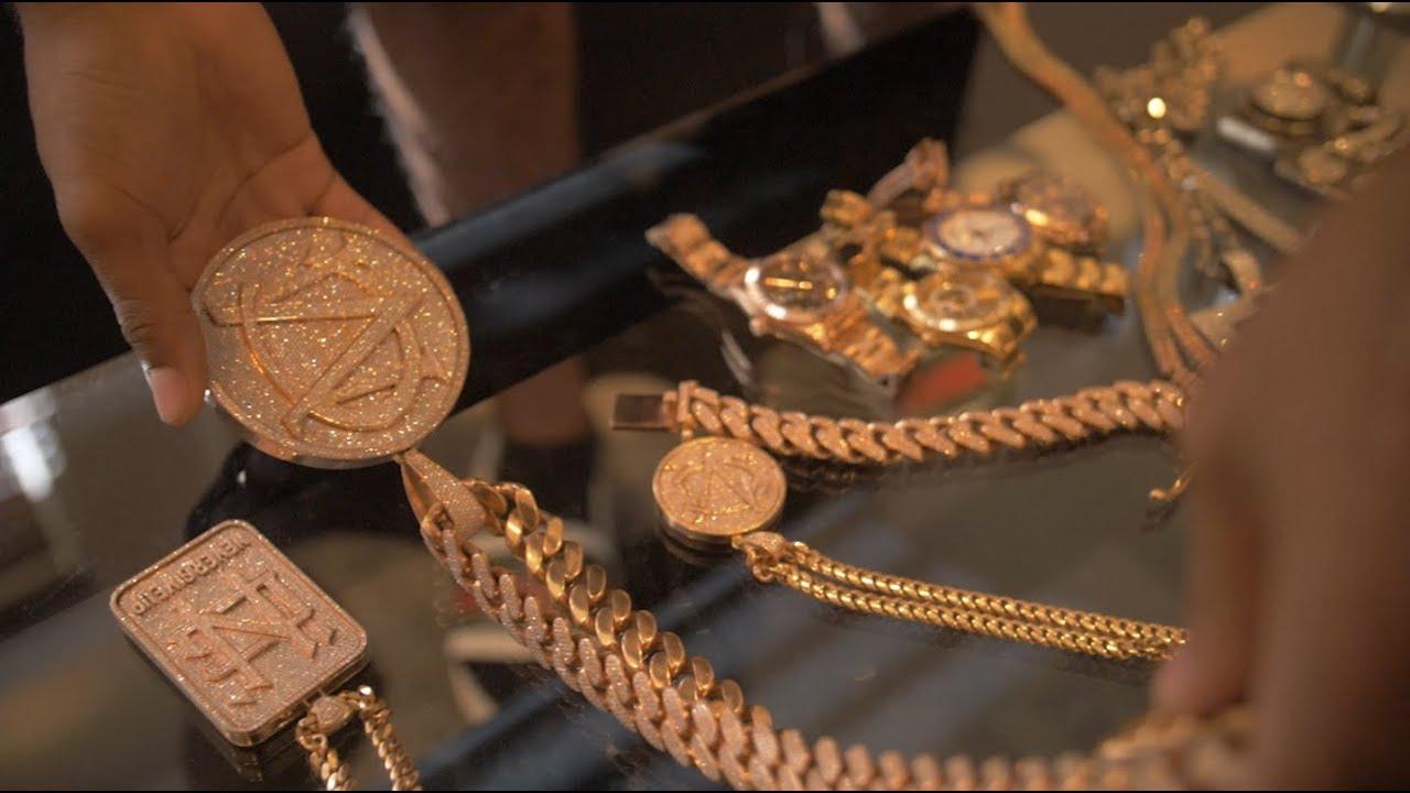 C Montana shows over 240k worth of Jewellery