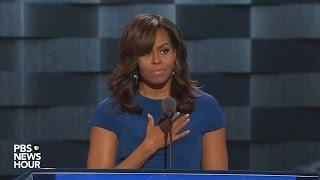 Michelle Obama 2016 DNC Speech