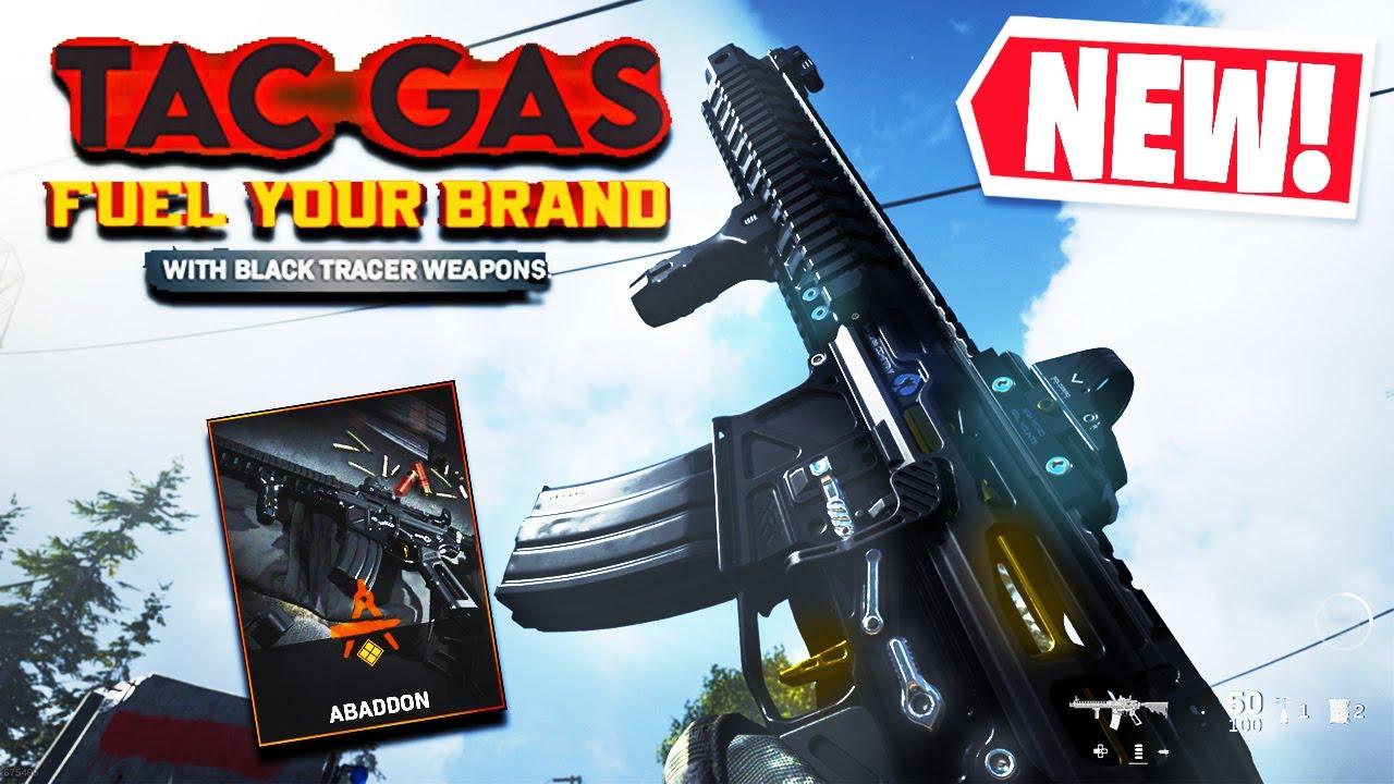 "PrimitiveAK - THE NEW M4A1 ""ABADDON"" BLACK TRACER PACK in MODERN WARFARE (TAC GAS: FUEL YOUR BRAND BUNDLE!)"
