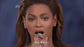 Beyonce - Ave Maria (Live HD) Legendado em PT- BR